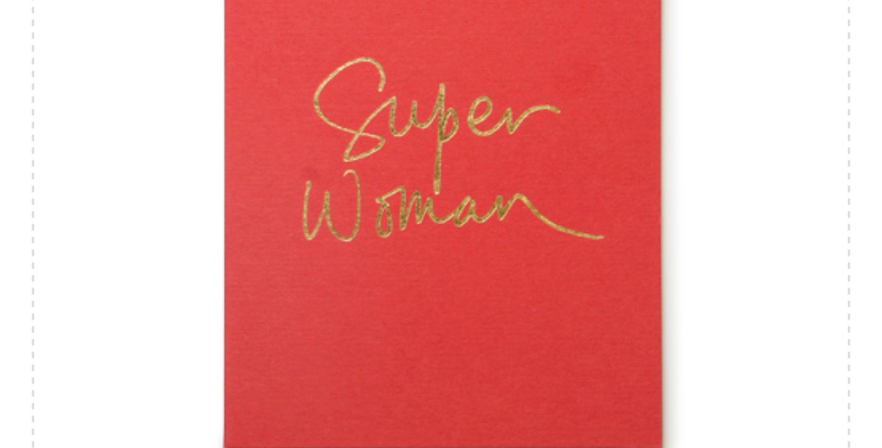 Superwomen card