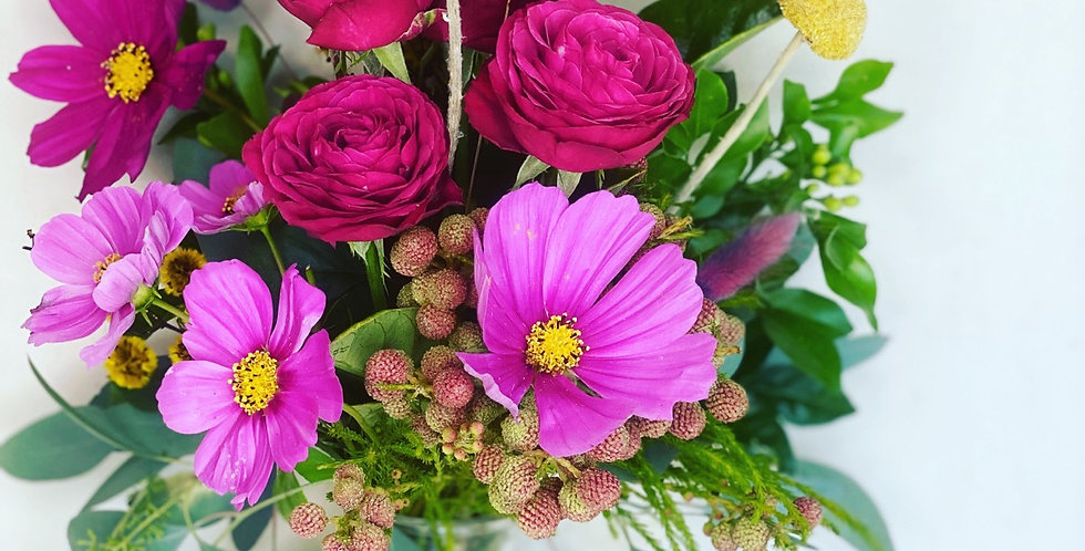 Florist choice bright jar