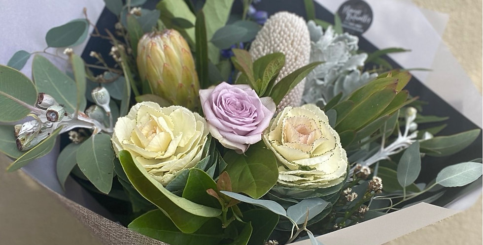 Pastel and pretty bouquet