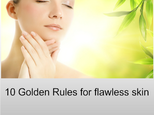 10 Skincare Golden Rules Guide