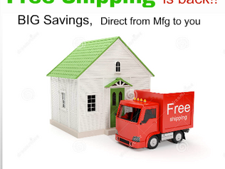 Free Shipping on Consumable Items