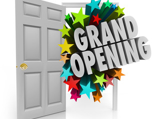 GOING LIVE, GRAND OPENING CELEBRATION
