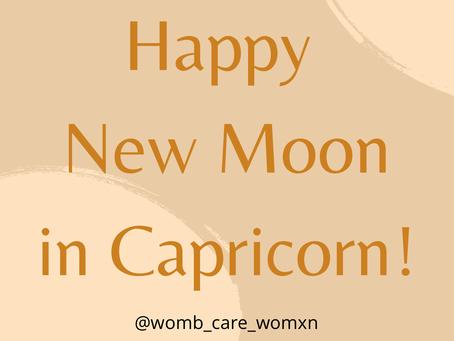 Happy New Moon in Capricorn!