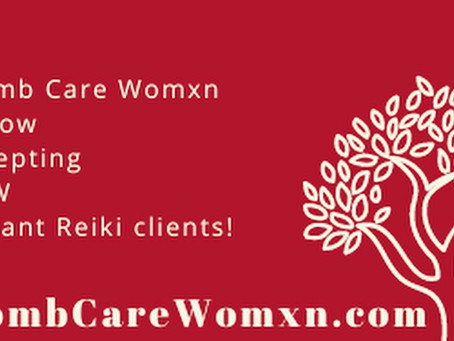 Accepting new distant Reiki clients!