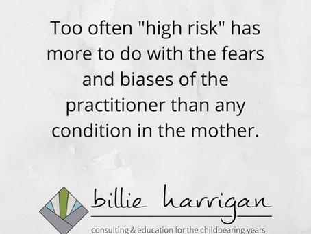 """""""High risk"""""""