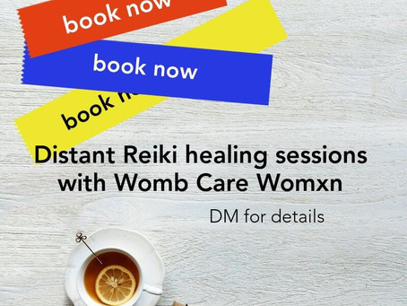 Booking new distant Reiki sessions. Seeking new powerful clients. ❤️
