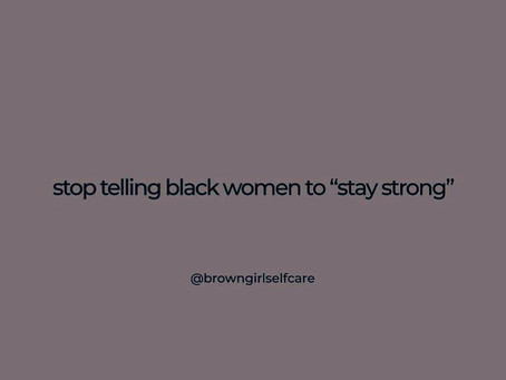 Support Black womxn