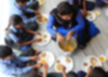 Childerns Having Mid Day meal.JPG