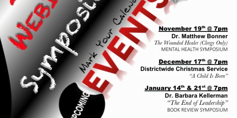 2nd Episcopal District - Symposium Series