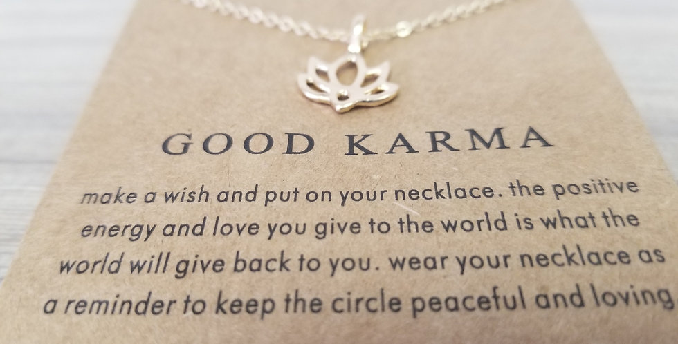 High Vibes Necklace - Good Karma