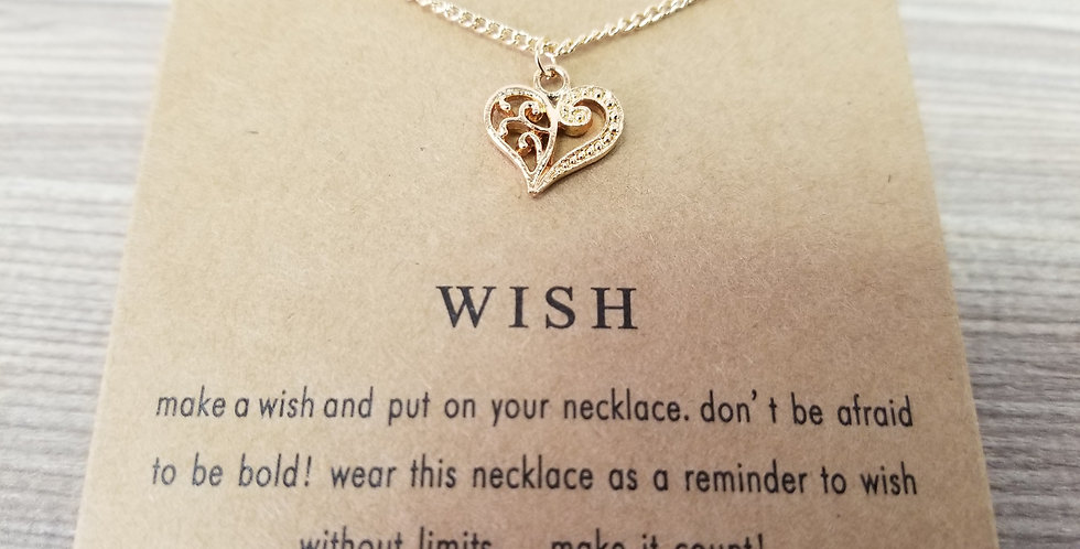 High Vibes Necklace - Wish