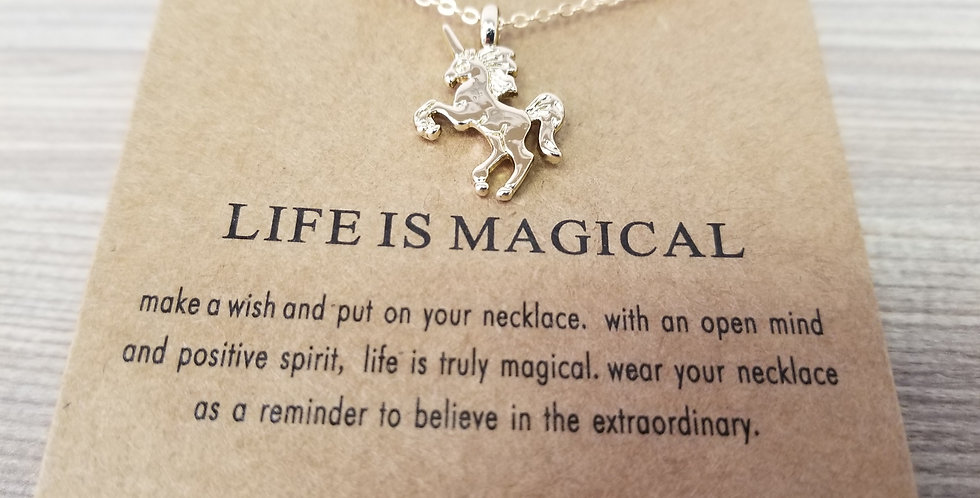 High Vibes Necklace - Life is Magical