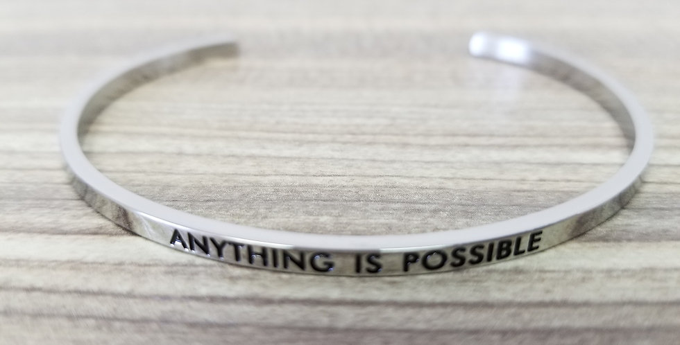 State-Trigger Bangle - Anything is Possible