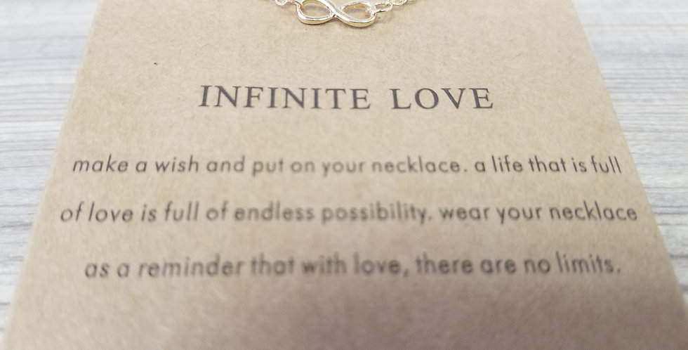 High Vibes Necklace - Infinite Love