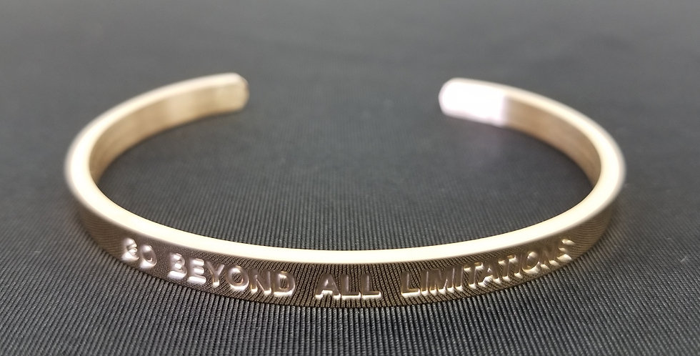 State-Trigger Bangle - Go Beyond All Limitations