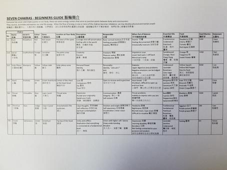 Seven Chakras Beginner's Guide