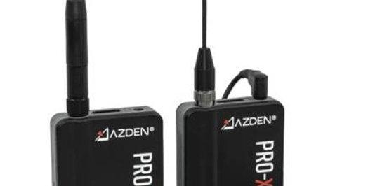 AZDEN PRO-XR 數碼無線咪套裝     2.4GHz Wireless Microphone System