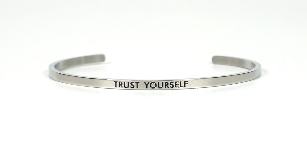 State-Trigger Bangle - Trust Yourself