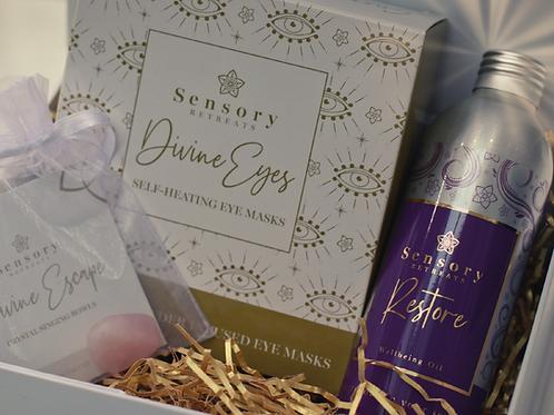 Divine Eyes & Restore Oil Wellbeing Gift Set