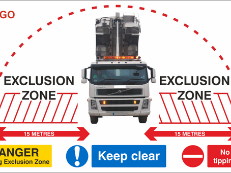 Tipping Exclusion Zone Signs
