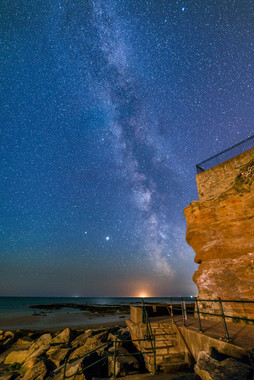 Milky Way over Sidmouth