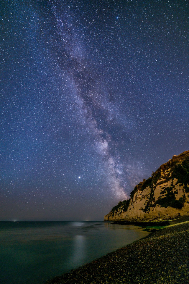 Milky Way over Beer Head