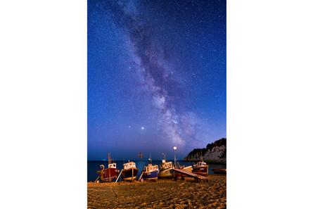A million stars over Beer Beach