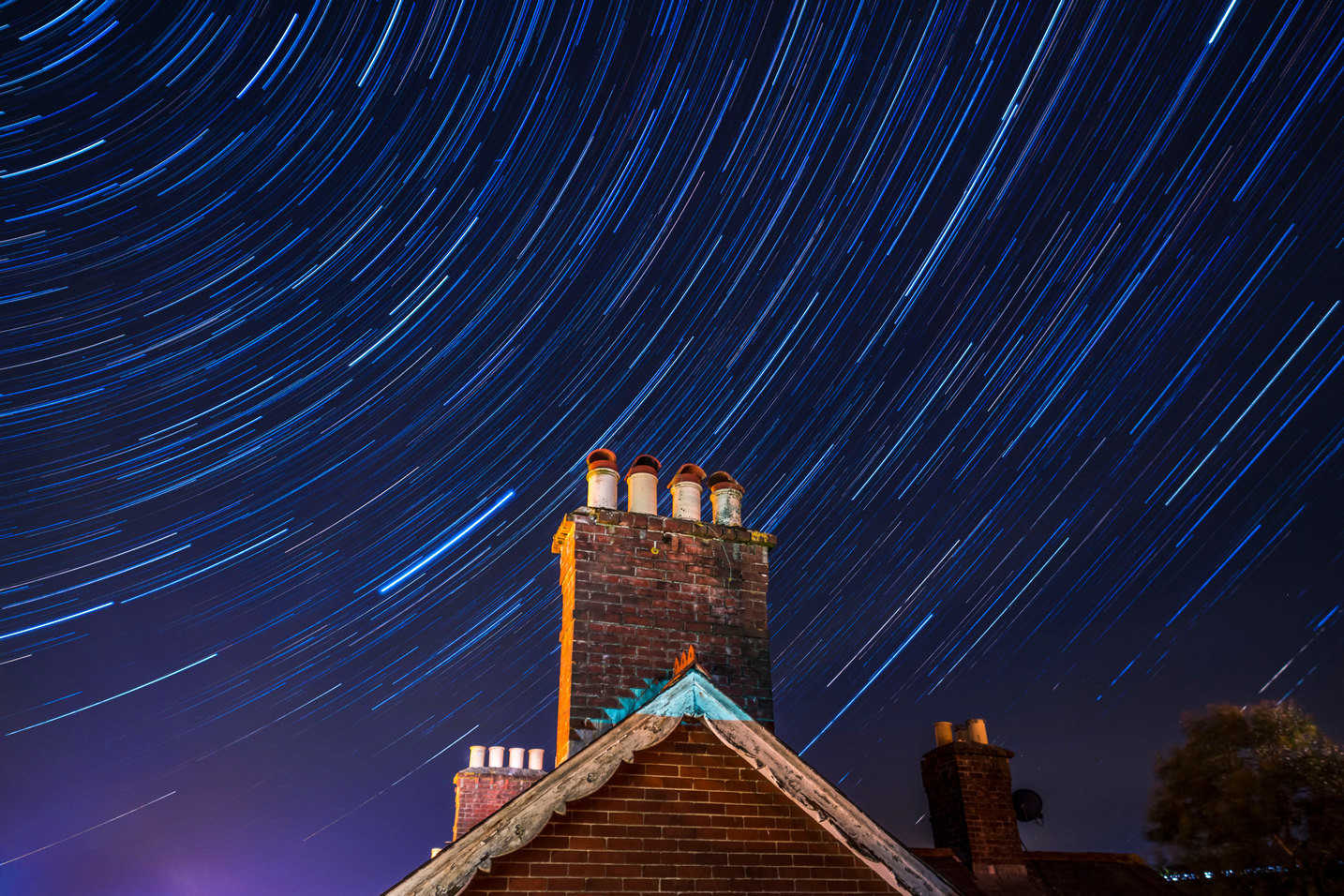 Honiton star trails