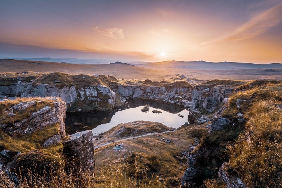 _AR35958 Summer sunset at Foggintor