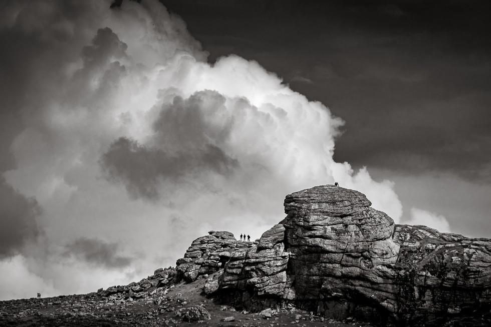 _AR35552  Storm clouds over Saddle Tor