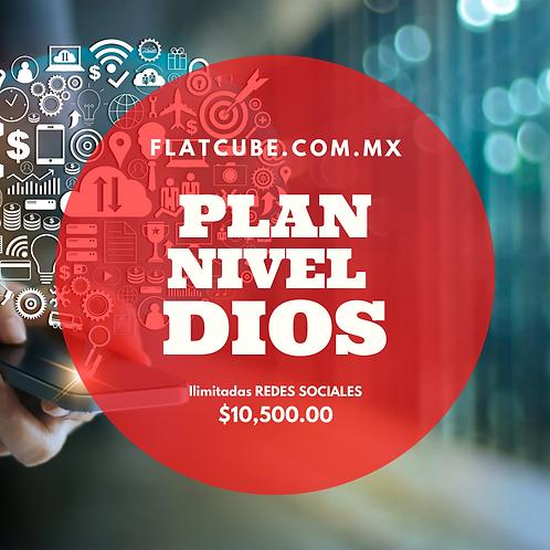 Plan Dios I Redes Ilimitadas  I Un Mes