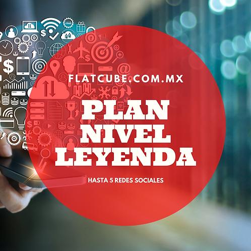 Plan Nivel Leyenda I Un Mes I 5 Redes Sociales