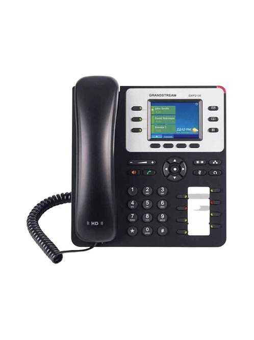 Teléfono IP Empresarial de 3 Líneas con 4 Teclas de Función.