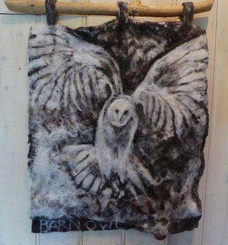 Barn Owl Hiunting