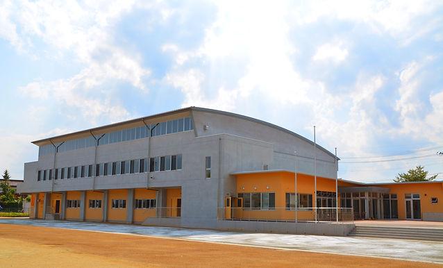 須賀川市中央体育館 旧並木町体育館 外観 須賀川市 水上設計