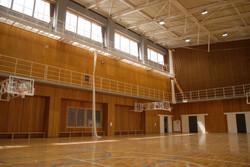 福島県田村市立大越小学校 体育館