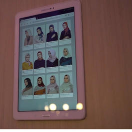 Hijab Vending Machine by Suqma