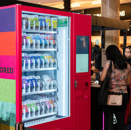 Cosmetics Vending Machine by Makeover