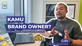 Strategi brand owner untuk buka offline store, Murah & ga perlu pegawai untuk menjaga store