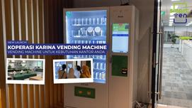 NEW LAUNCH! Vending Machine untuk kebutuhan kantor anda