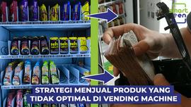 Strategi untuk Menjual produk yang kurang laku di vending machine