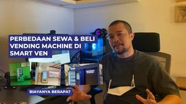 Perbedaan sewa dan beli vending machine di indonesia