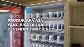 Produk Apa Saja yang Bisa di Jual di Vending Machine?