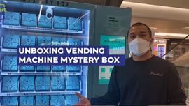 Unboxing Vending Machine Mysterybox yang lagi viral di TikTok
