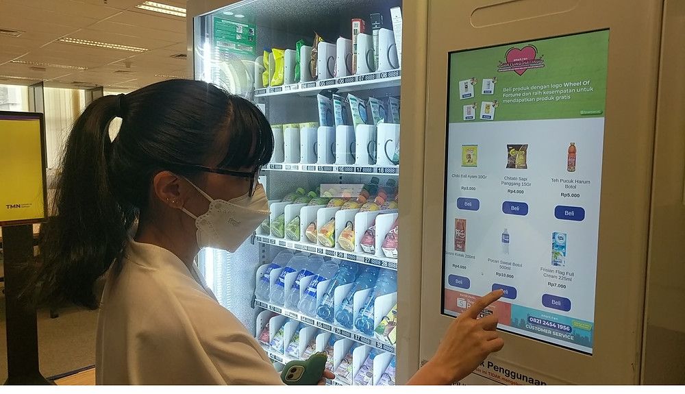 Smartven vending machine indonesia