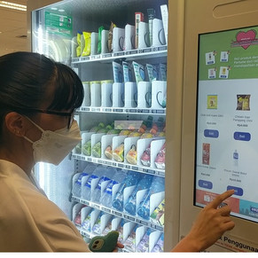 Smartven Vending Machine Indonesia