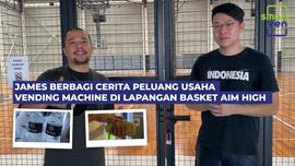 Melihat Peluang usaha vending machine di lapangan basket langsung dari ownernya