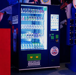 Vending Machine for Bear Brand Event #GENERASIBISABANGET
