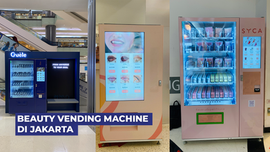 Beauty Vending Machine yang ada di Jakarta