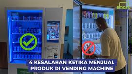 4 Kesalahan Ketika Menjual Produk di Vending Machine